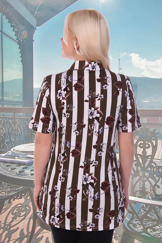 Женская хлопковая рубашка Natali 3621