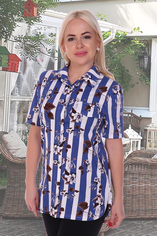 рубашки женские с коротким рукавом