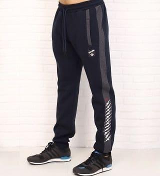 Теплые темно-синие брюки Berchelli