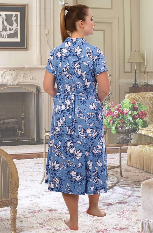 Хлопковый халат дамский  Natali