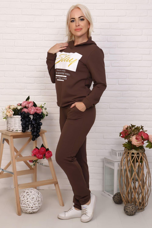 женский костюм с капюшоном