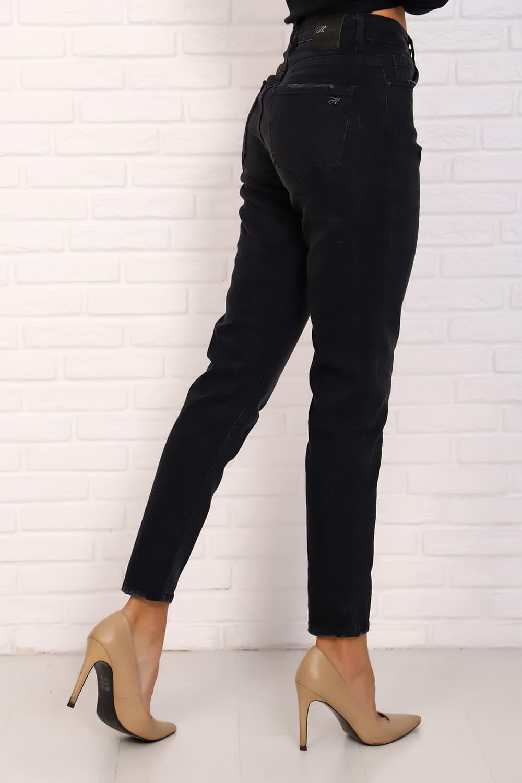 Черные укороченные джинсы Natali