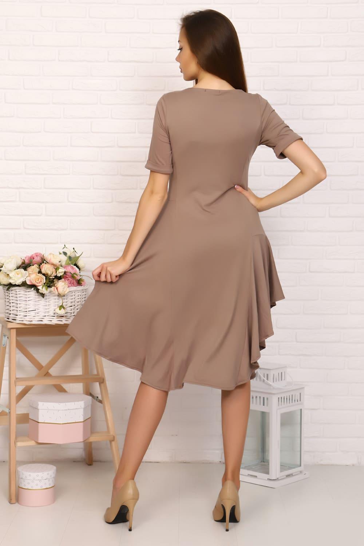 Платье с воланами Natali