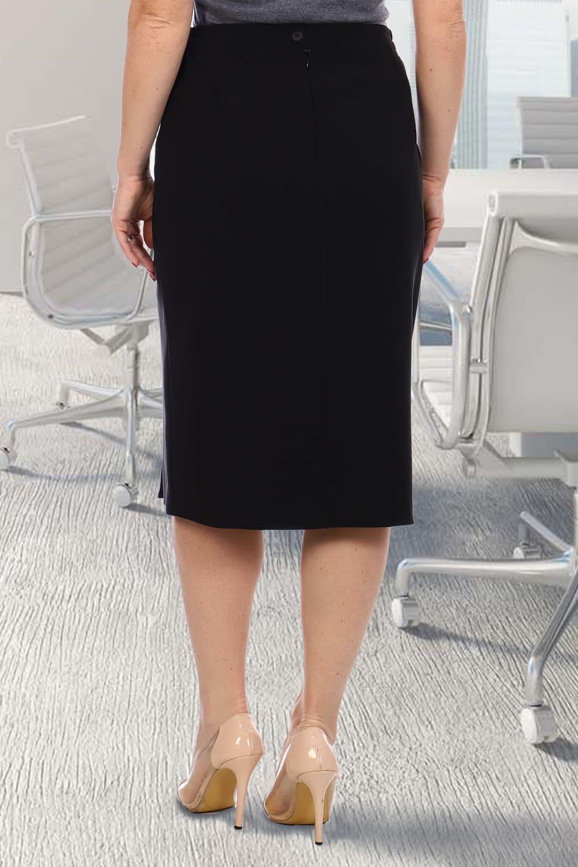 Черная классическая юбка Natali