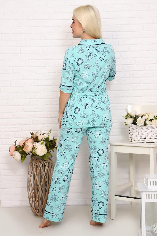 Ментоловый костюм для дома Natali