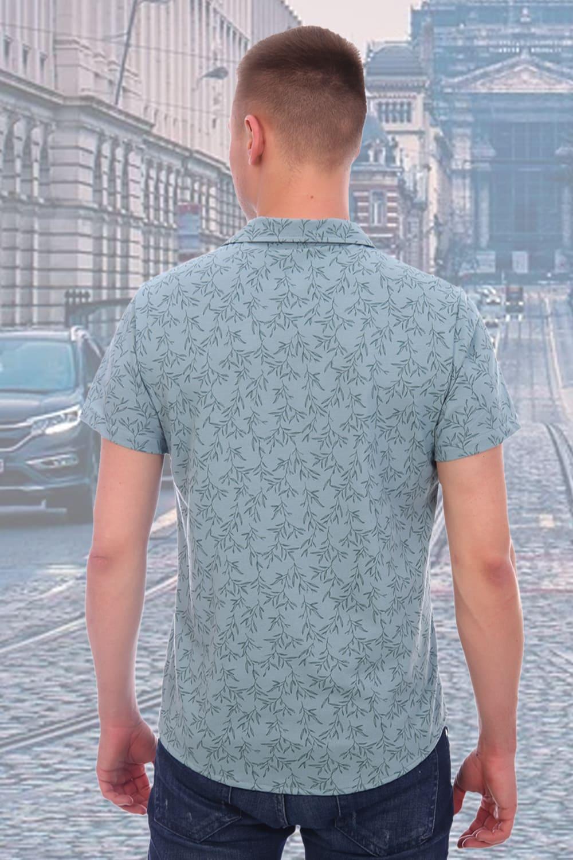 Мужская рубашка короткий рукав Brostem