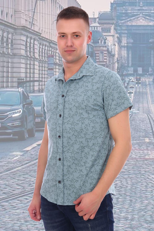 рубашки короткий рукав мужские