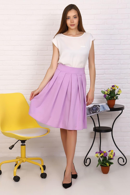 сиреневая юбка