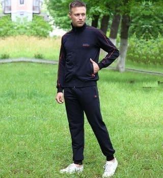 Черный спортивный костюм Berchelli