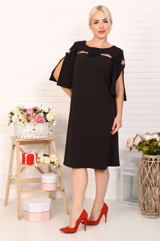 стильное платье для полных женщин