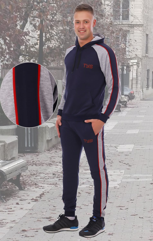 темно синий спортивный костюм мужской