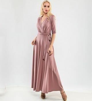 Длинное летние платье TopDesign PA9 66