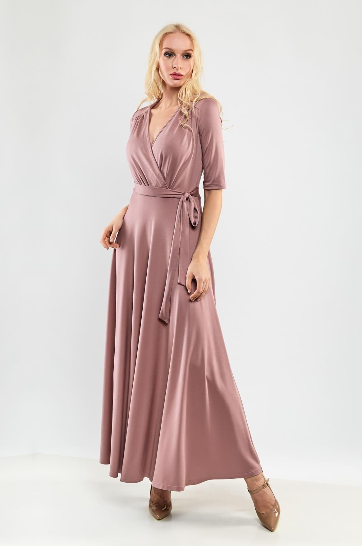 длинное летние платье