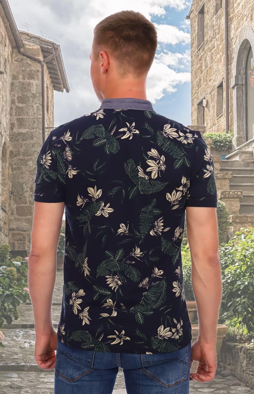 Гавайская футболка поло Berchelli