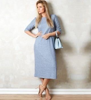 Платье в городском стиле Top Design A20 019