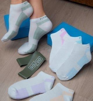 Короткие женские носки  6 пар