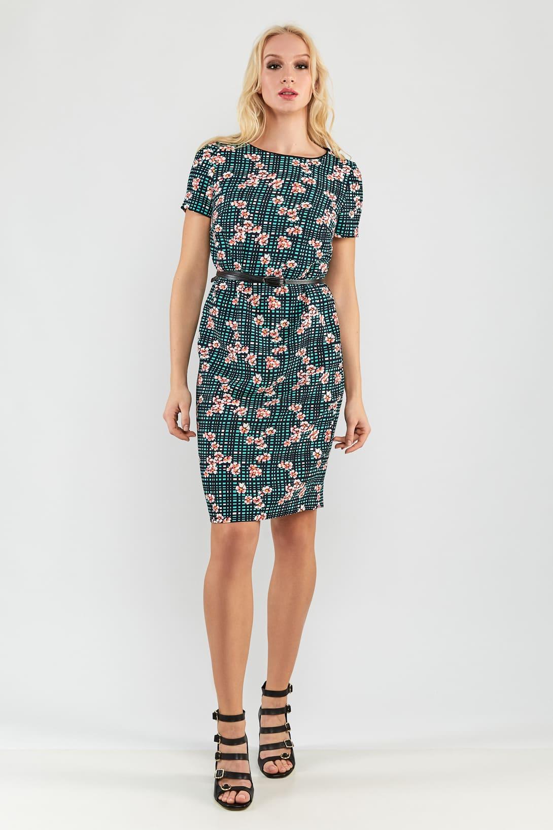 летние платье в офис приобрести