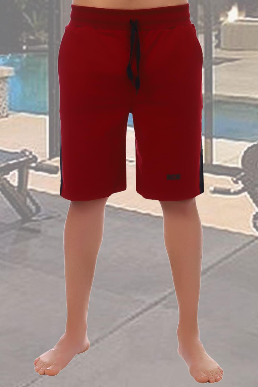 мужские шорты бордовые