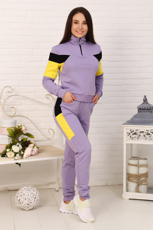 Спортивный костюм с молнией  15537