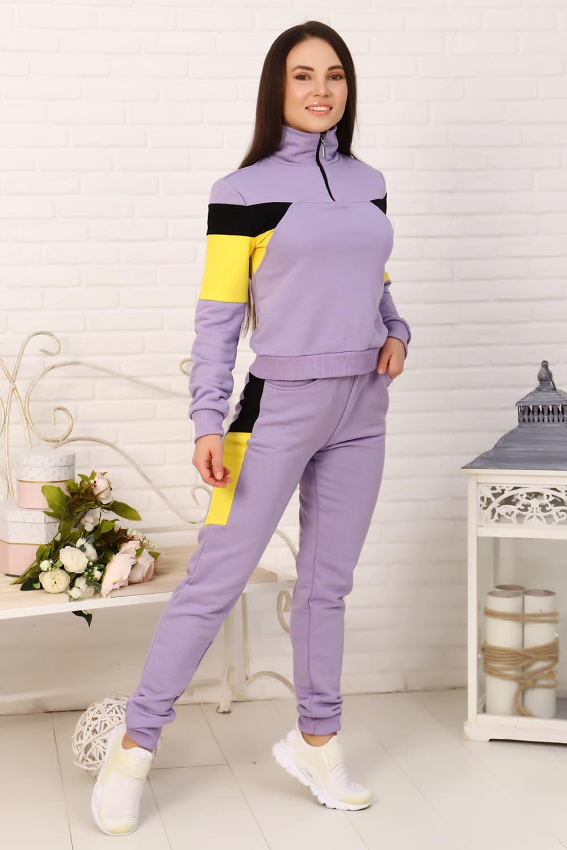 спортивный женский костюм с молнией