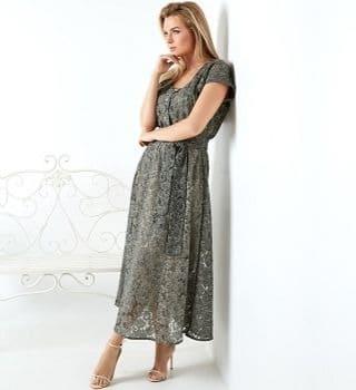 Стильное платье TopDesign A20 034