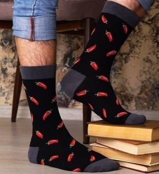 мужские носки перцы