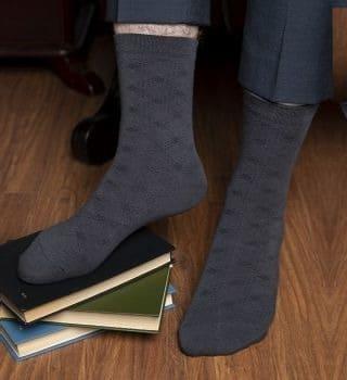 Мужские носки средней длины  - 6 пар