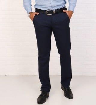 Мужские брюки без стрелок Berchelli 23502