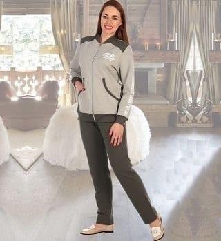 Спортивный женский костюм на молнии Natali