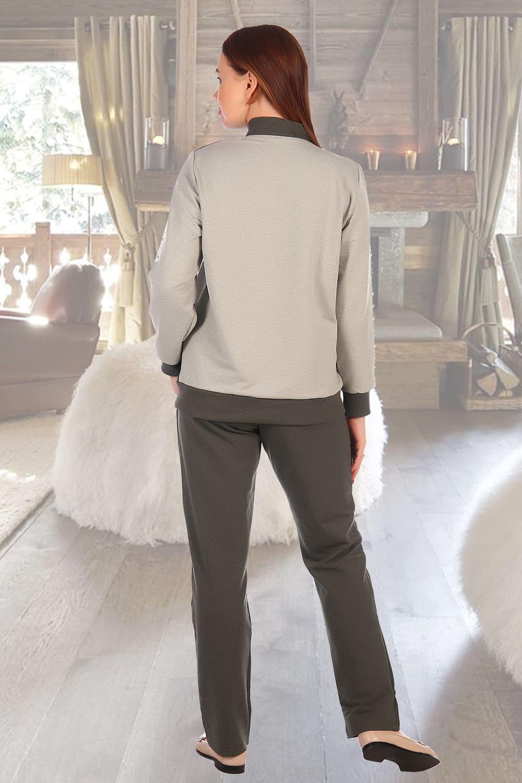Спортивный дамский  костюм на молнии Natali