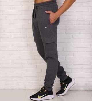Мужские повседневные брюки с карманами 16098