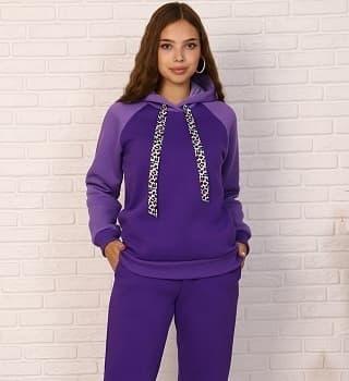 Теплый женский костюм с начесом 15560