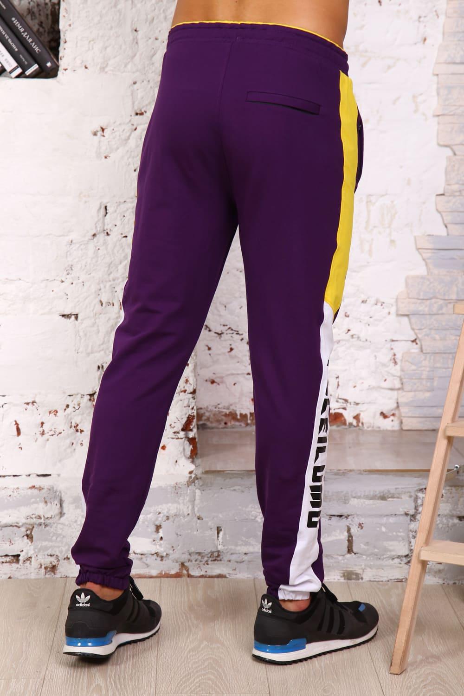 Фиолетовые спортивные штаны B26501