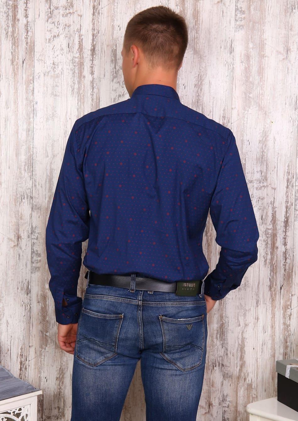 Рубашка из поплина Brostem 17535