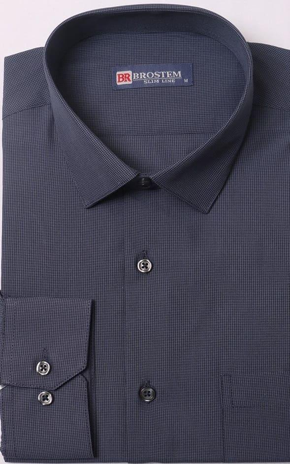 мужская рубашка с долгим  рукавом