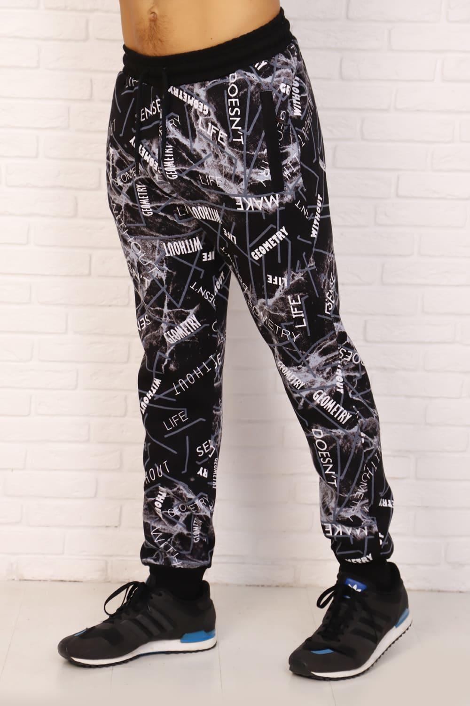 штаны с рисунком