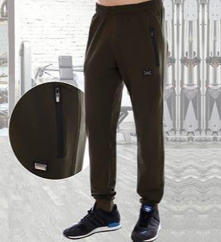 Спортивные штаны хаки Berchelli