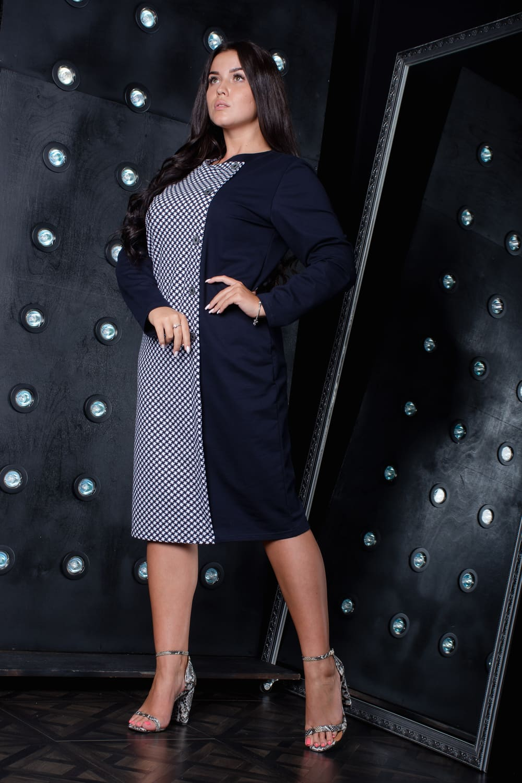 стильное платье большой величина