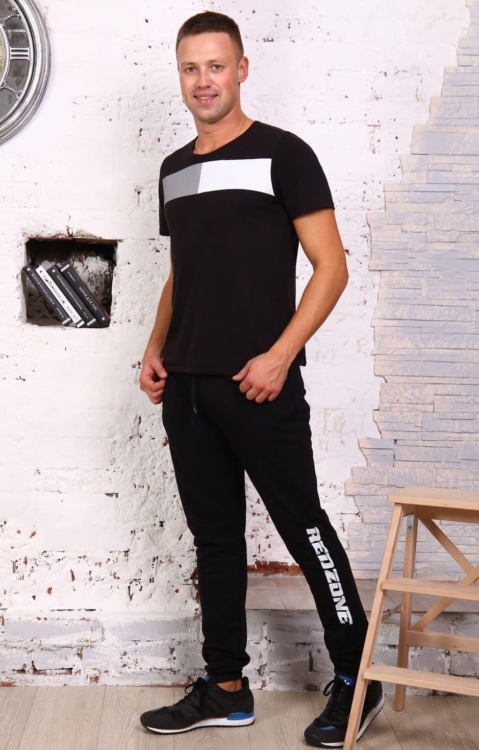 мужские брюки с надписью