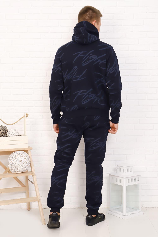 Теплый костюм мужской с начесом 16516