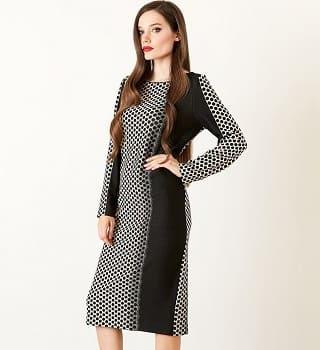 Модное платье Top Design PB20 02