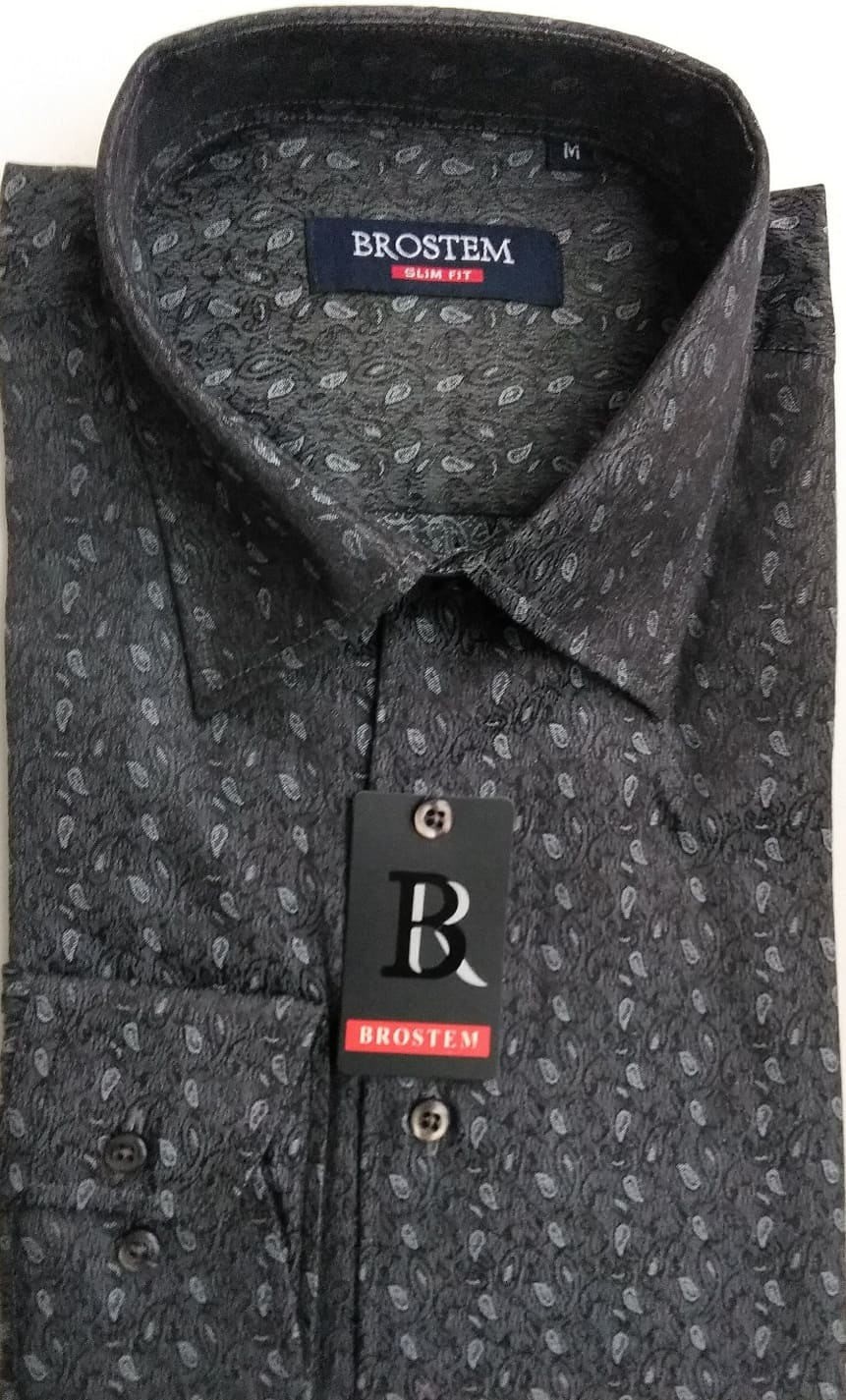Приталенная рубашка Brostem 2024-5