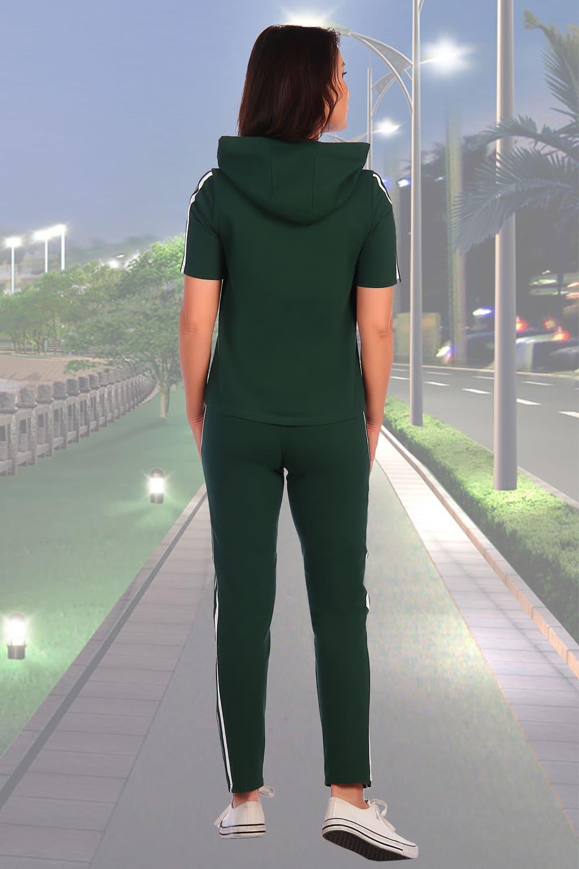 Спортивный зеленый костюм 2150