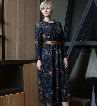 Стильное платье Flaibach 086F0