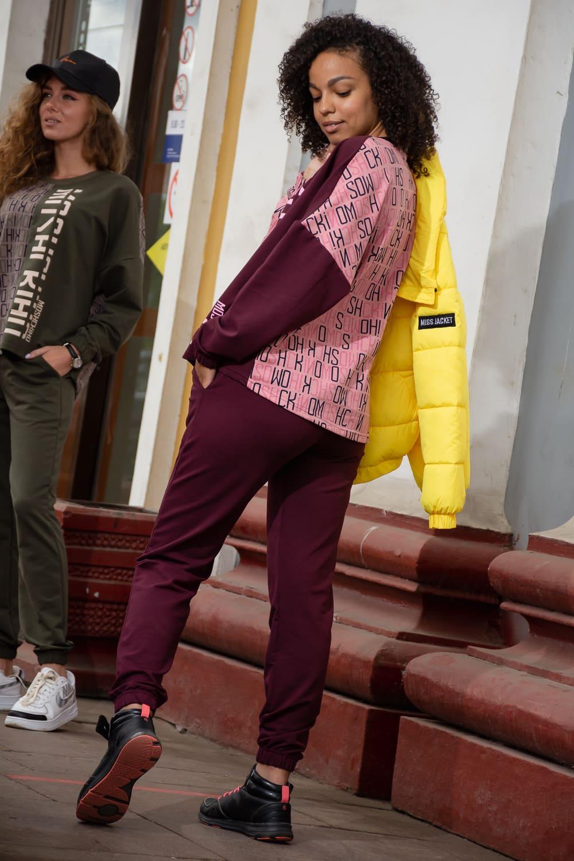 Свитшот с брюками дамский  N7252