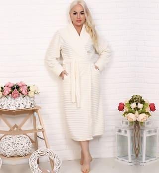 Теплый женский халат N12840
