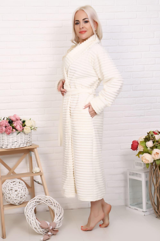 Теплый дамский  халат N12840