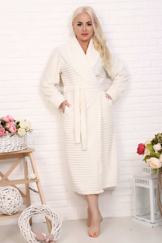теплый дамский  халат