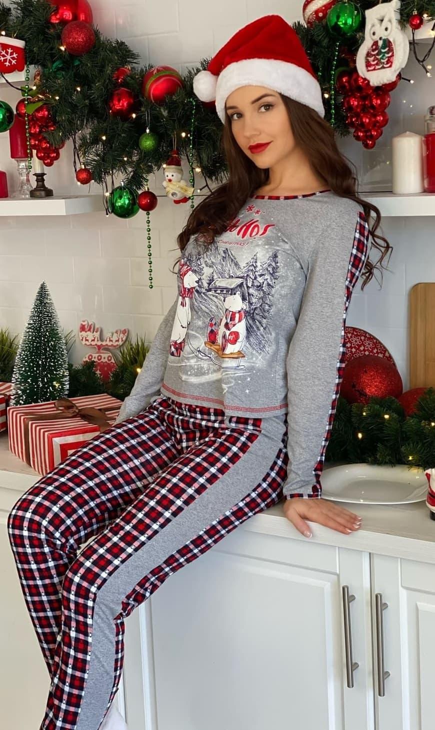 Новогодняя пижама 8027