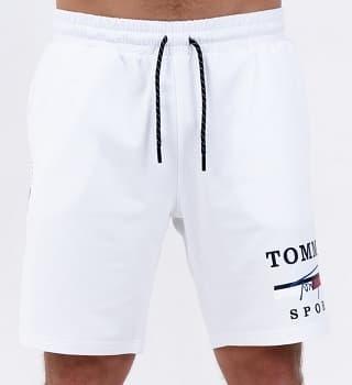 Белые шорты мужские 16033